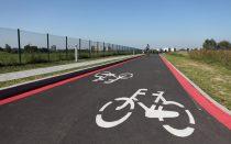 Ścieżka rowerowa wokół lotniska