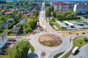 Kronika Budowy DW 942 ul. Cieszyńska maj 2020