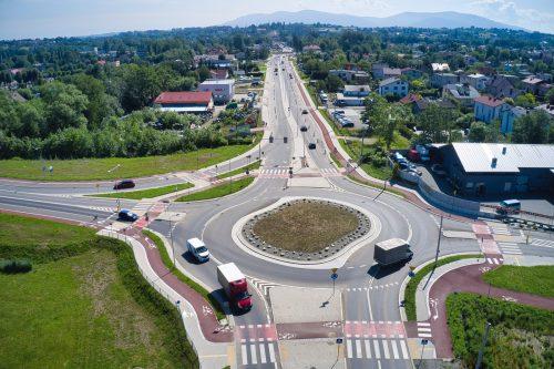 Rozbudowa DW 942 (ul. Cieszyńskiej) w Bielsku-Białej – stan prac na 30.06.2020 r.