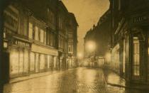 Oswietlone ulice