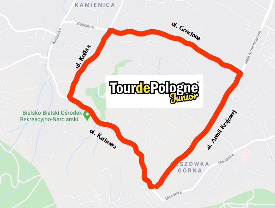 Trasa Tour de Pologne Junior