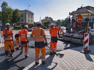 Rozbudowa DW 942 (ul. Cieszyńskiej) w Bielsku-Białej (1)
