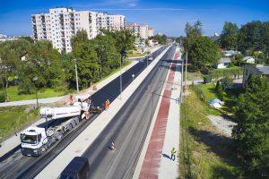 Rozbudowa DW 942 (ul. Cieszyńskiej) w Bielsku-Białej (10)