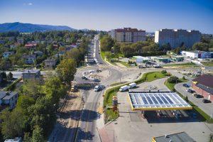Rozbudowa DW 942 (ul. Cieszyńskiej) w Bielsku-Białej (12)