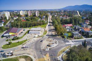 Rozbudowa DW 942 (ul. Cieszyńskiej) w Bielsku-Białej (13)