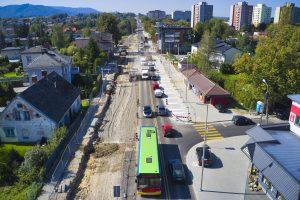Rozbudowa DW 942 (ul. Cieszyńskiej) w Bielsku-Białej (15)
