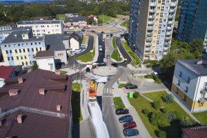 Rozbudowa DW 942 (ul. Cieszyńskiej) w Bielsku-Białej (19)