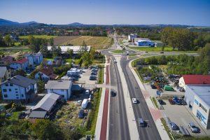 Rozbudowa DW 942 (ul. Cieszyńskiej) w Bielsku-Białej (21)