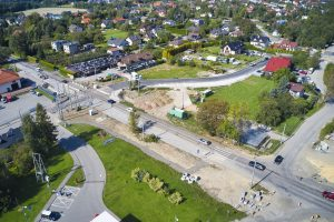 Rozbudowa DW 942 (ul. Cieszyńskiej) w Bielsku-Białej (27)