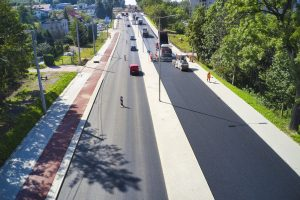 Rozbudowa DW 942 (ul. Cieszyńskiej) w Bielsku-Białej (8)